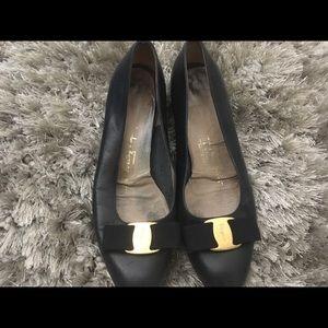 Ferragamo kitten heels